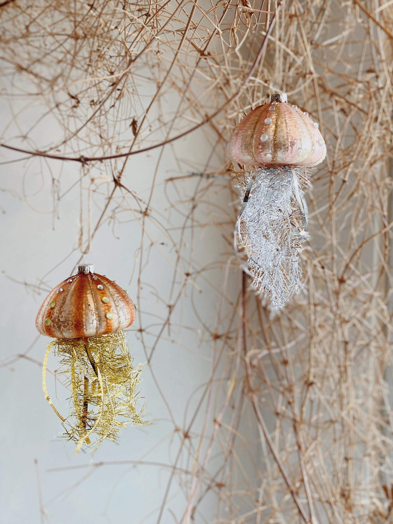 cody foster tinsel jellyfish ornament OS