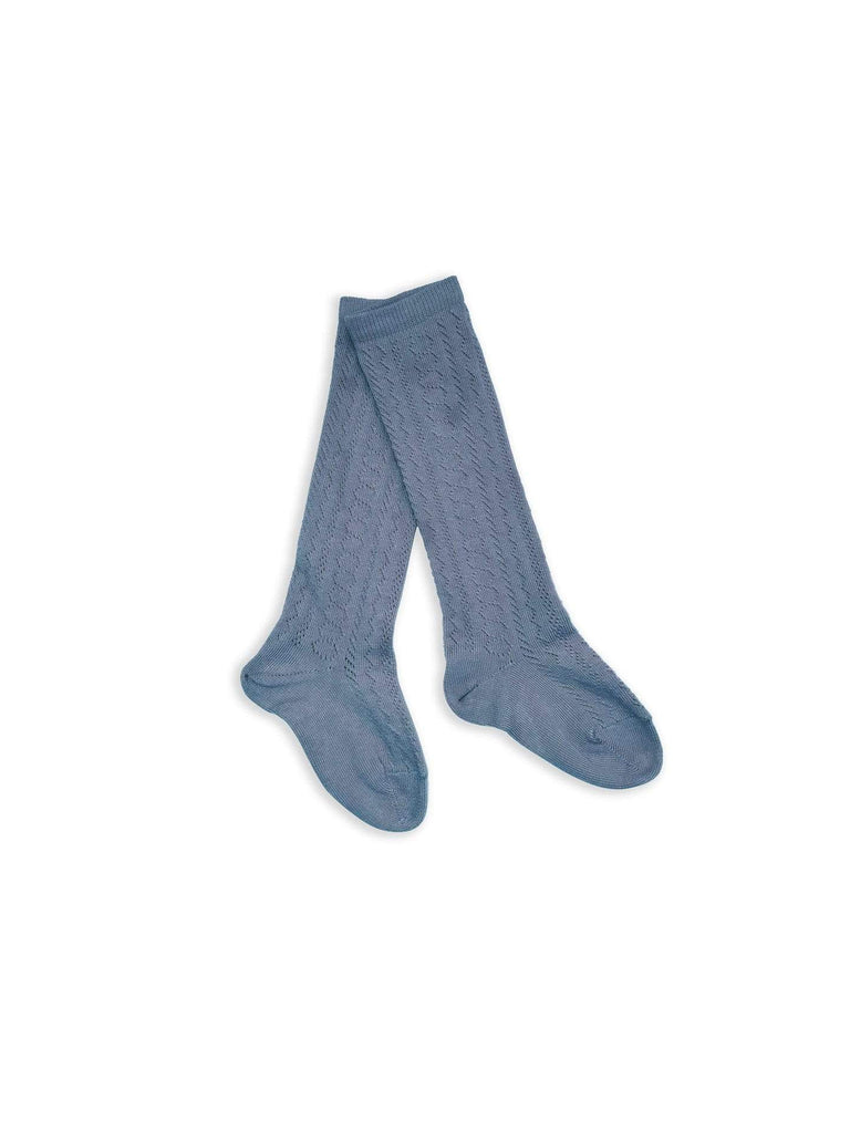 jeune jeune knee-high pointelle socks color no. 9