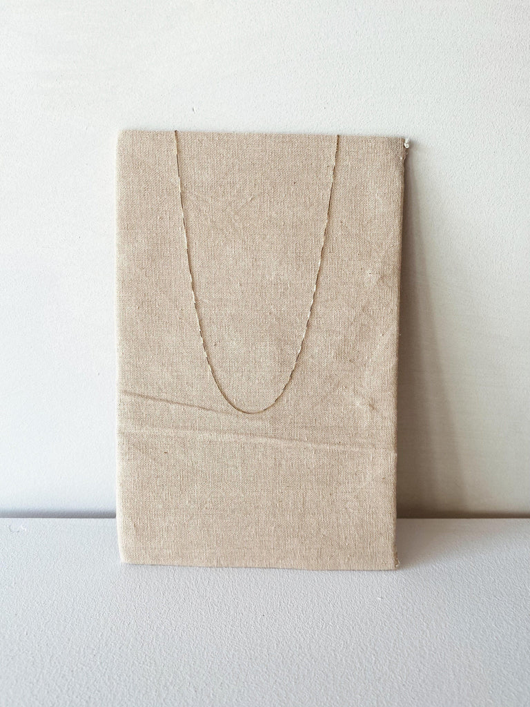 "kristen elspeth 16"" thread necklace in 14k"