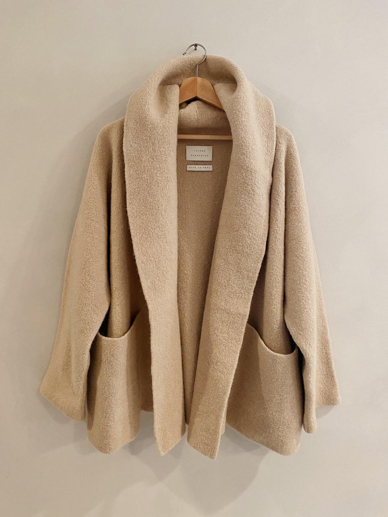 lauren manoogian double face coat in antique