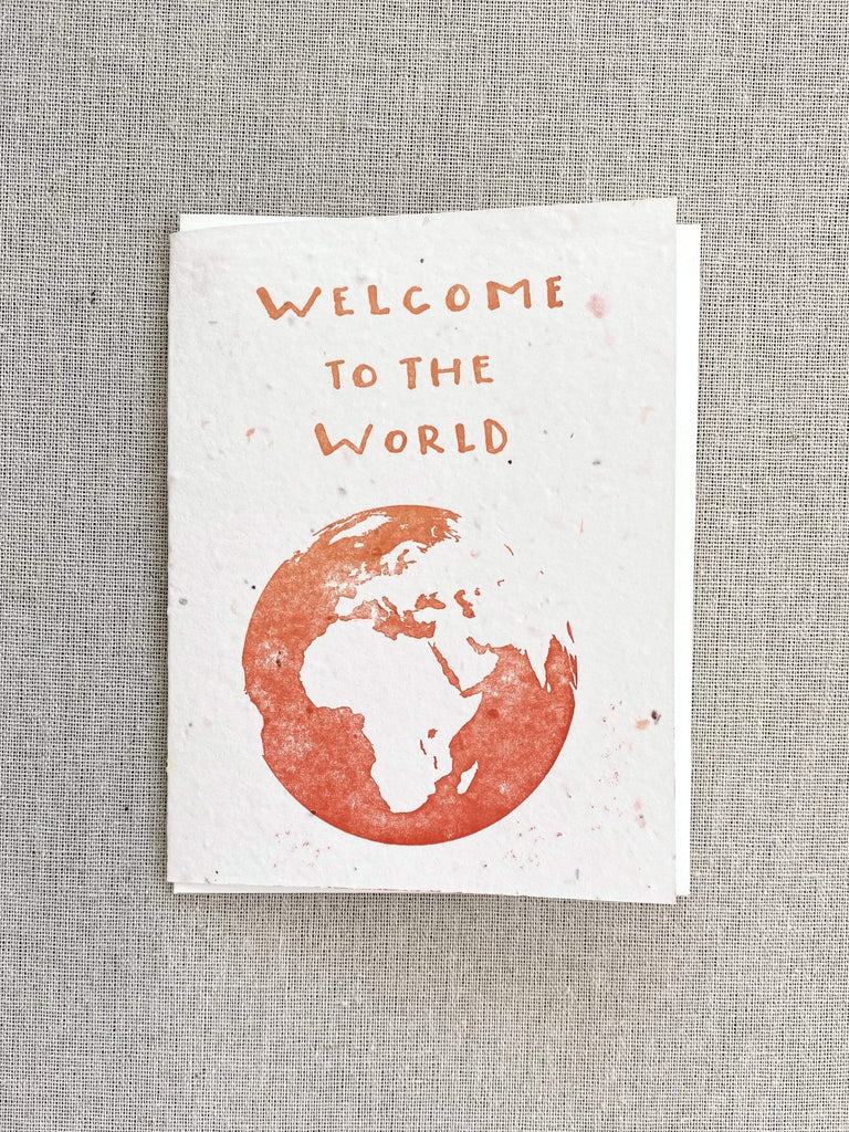 Lovewild Welcome To The World Card