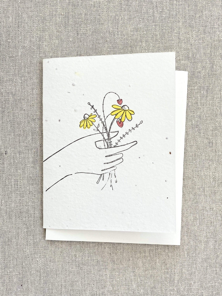 Lovewild Wildflower Bouquet Card
