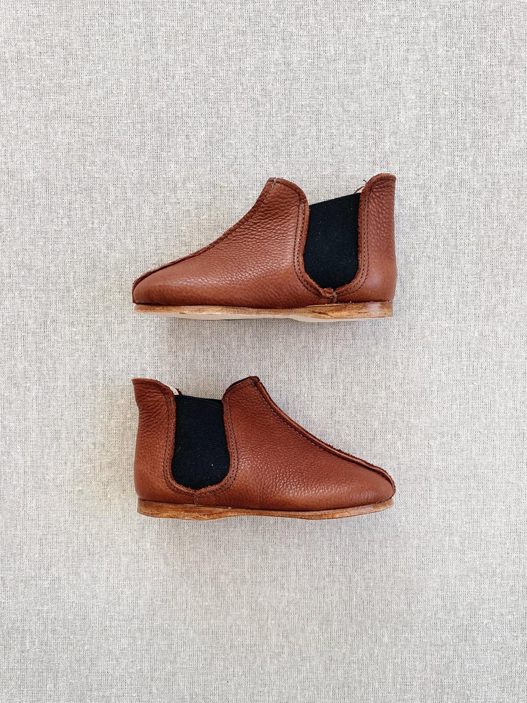 mabo chelsea boot in cider leather