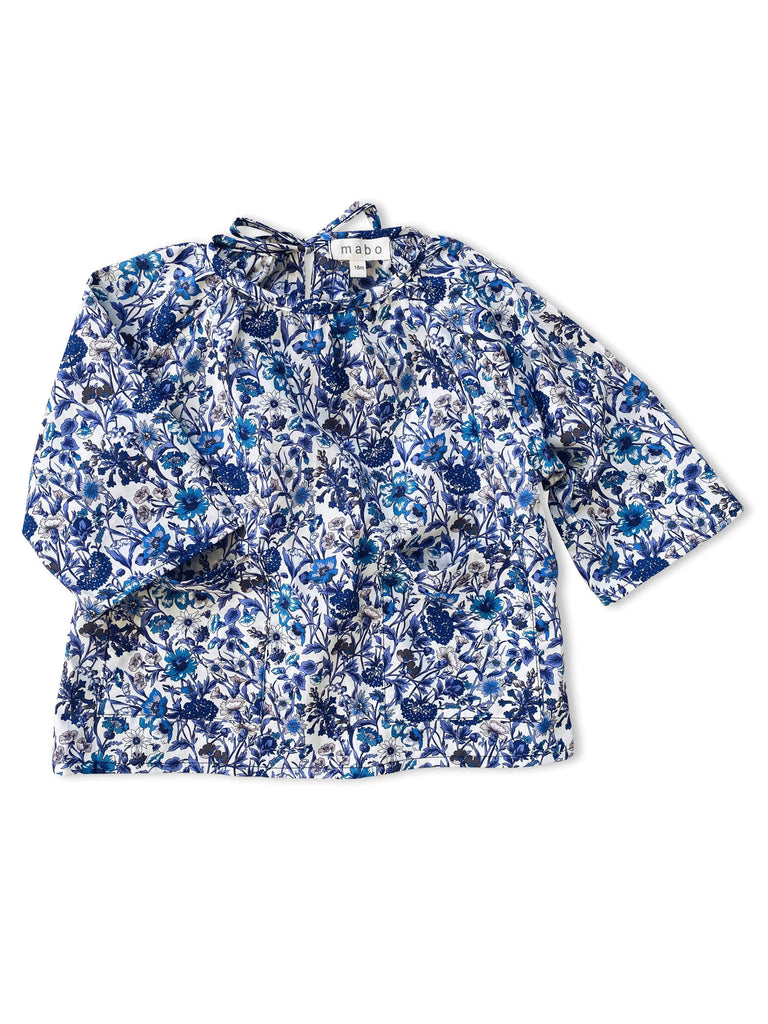 mabo gemma blouse in liberty of london rachel floral