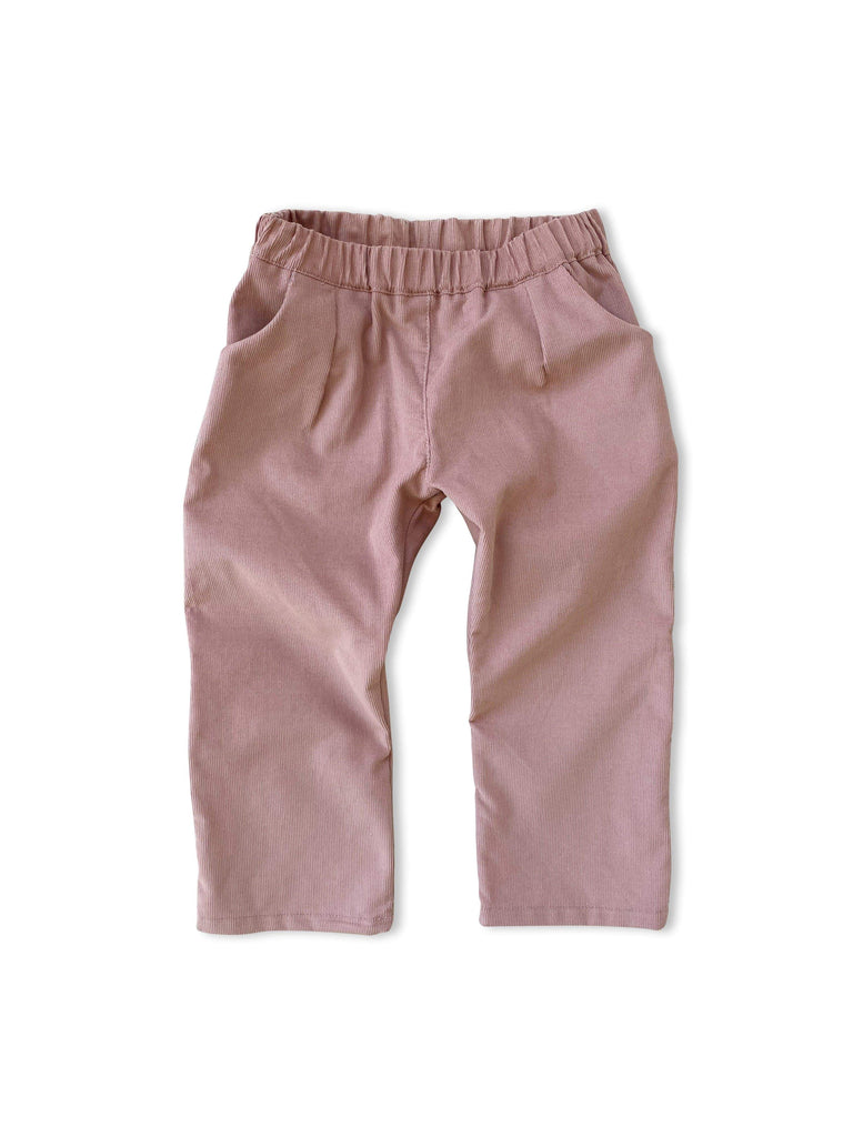 mabo james pants in blush corduroy