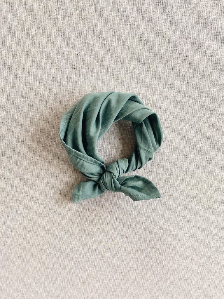 mabo kerchief in mint voile