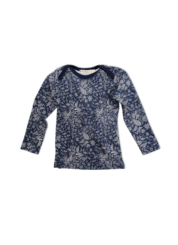 mabo lap tee in whispering stars floral