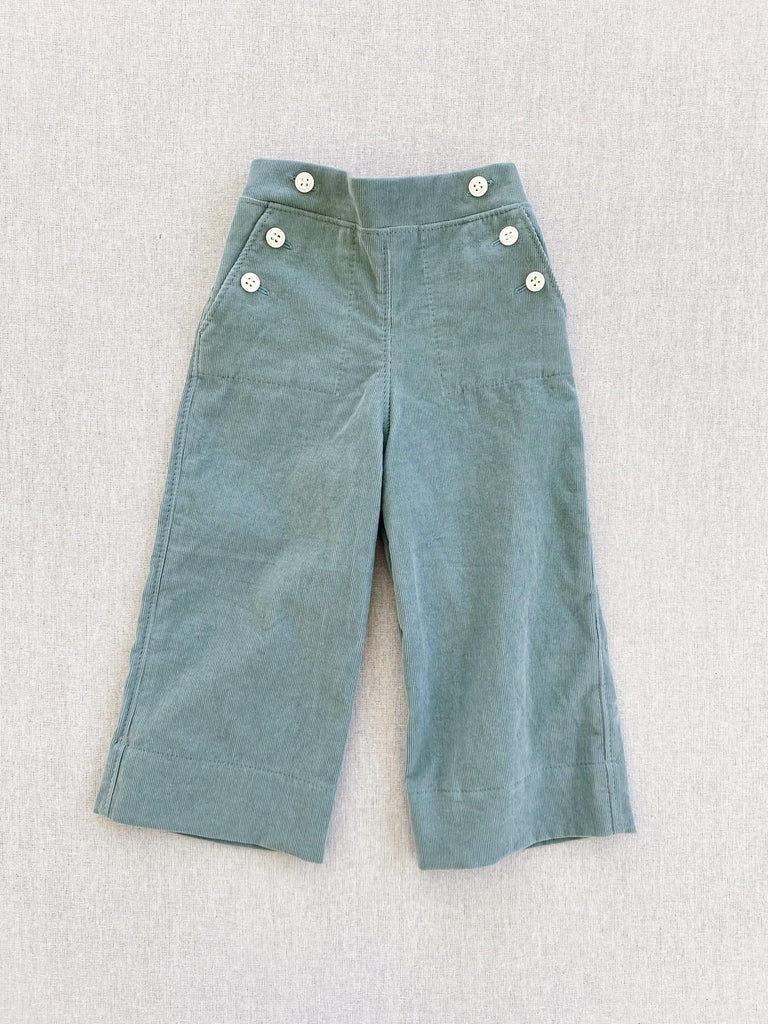 mabo remy pants in mint corduroy