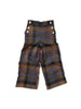 mabo remy sailor pants in autumnal plaid