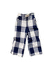 mabo remy sailor pants in soft woolie buffalo check
