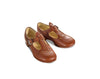 mabo t-strap leather shoes in cider