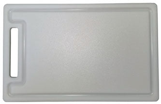 "HDPE / Sanatec Plastic Cutting Boards - Custom with Drip Groove / Well and Handle - 1/2"" Thick - Pick Size and Color"