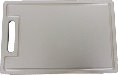 "HDPE Cutting Board With Dripwell and Handle (1/2"" Thick)"