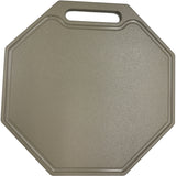 "1/2"" Thick Octagon Shaped HDPE Cutting Board"