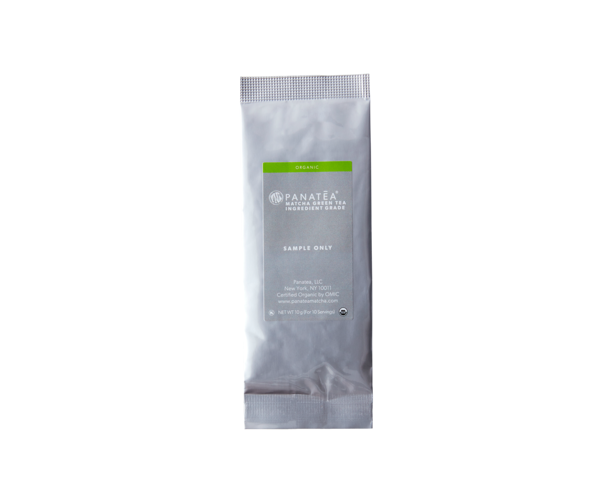 Organic Ingredient Grade Matcha Sample