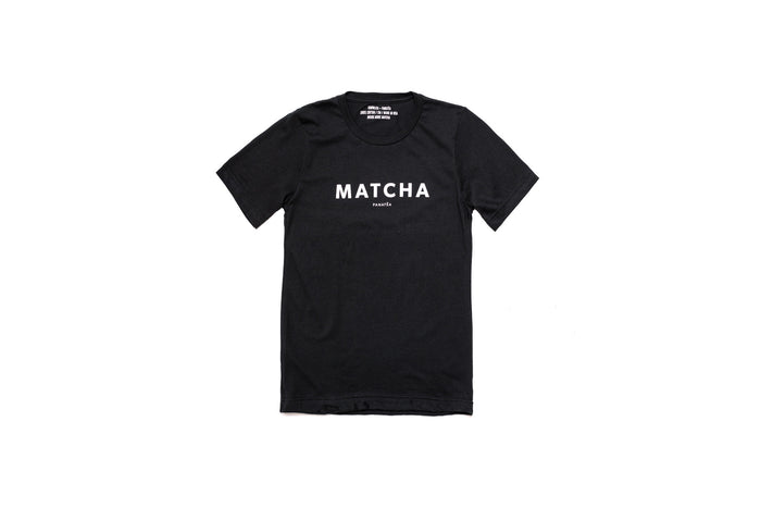 Black MATCHA T-Shirt