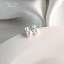 Load image into Gallery viewer, Tonia Snowman with Little CZ Gems Earrings