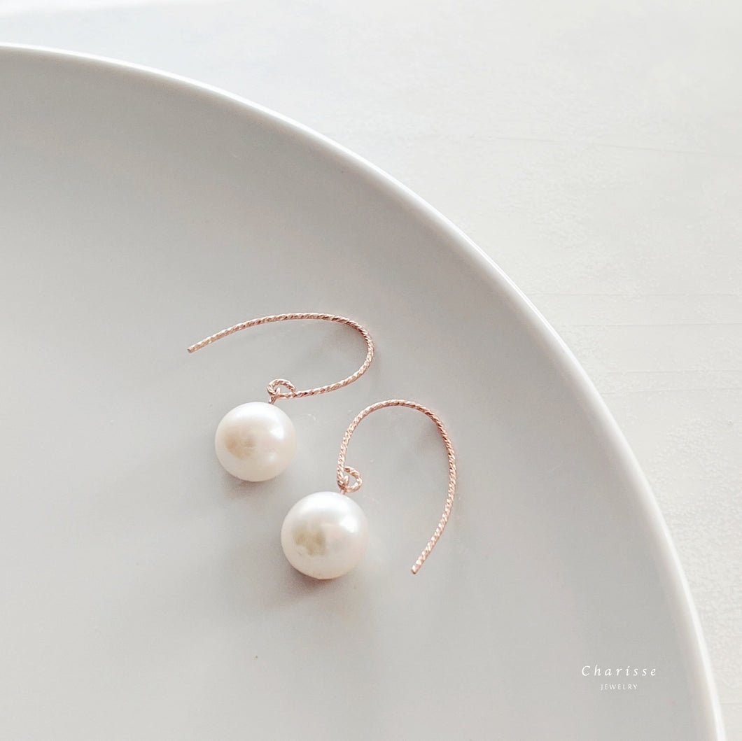 Candy Japanese Freshwater Pearl Earrings