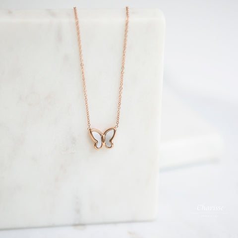 Claire Small Butterfly Necklace