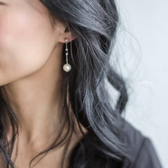 Danielle Japanese Freshwater Pearl Earrings