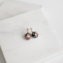 Load image into Gallery viewer, Rebecca Japanese Hand Painted Lacquered Bead Earrings