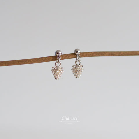 Christina Pine Cone Earrings