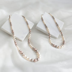 Lara Swarovski Crystal Pearls Necklace