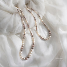Load image into Gallery viewer, Lara Swarovski Crystal Pearls Necklace