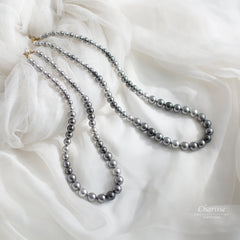 Anita Swarovski Crystal Pearls Necklace