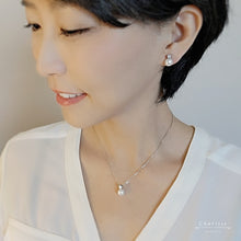 Load image into Gallery viewer, Princess Diana Style Japanese Freshwater Pearl Set