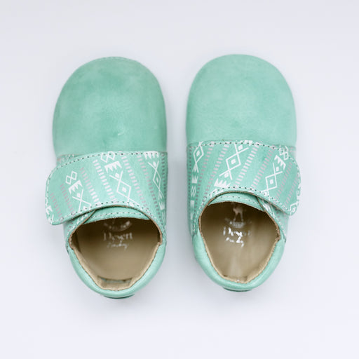 Mint Green Sadu Shoe
