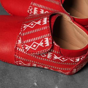 Bold Red Sadu Shoe