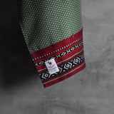 The Original Collection:  Murooj (مروج) Green Polka Dot Ring Sling
