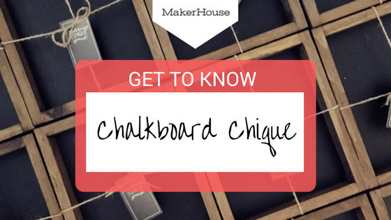 """Optimizing Your Online Presence"", Get to Know: Chalkboard Chique"