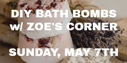 May: Bath Bombs, Campfire, and Website Deals