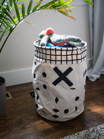 Canvas Toy Bin