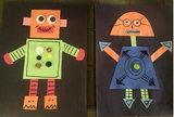 Shape Robots - Kids Construction Craft