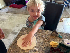 Handprint Ornament Making