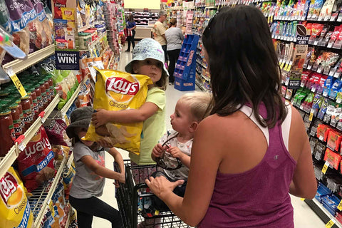 A Trip To The Grocery Store With Three Kids