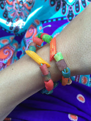 Noodle Bracelet Kids Crafts