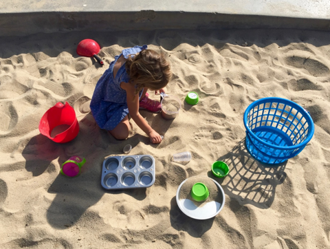 Sand Castle Kids Activities