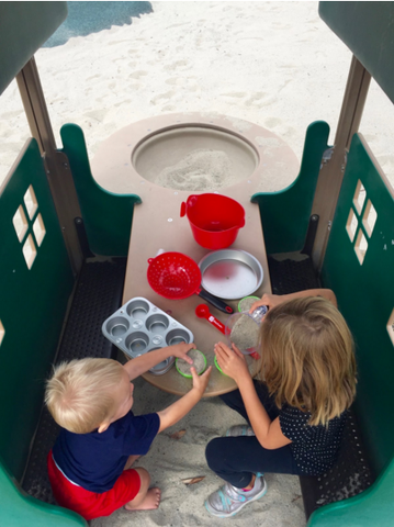 Kids Activities at a Sandbox
