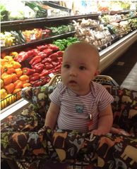 Baby at the Grocery Store