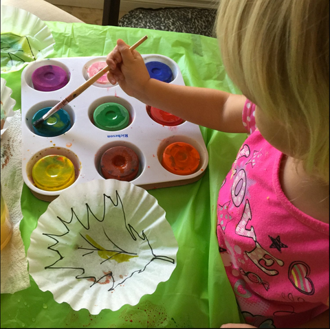 Coffee Filter Crafts for Fall