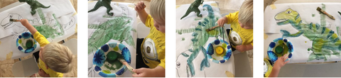 Kids Crafts Dinosaurs