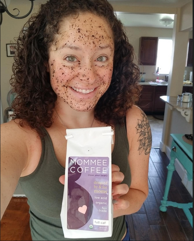 Face Mask Made of Coffee