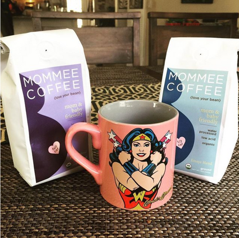 Wonder Woman Coffee Mommee Coffee