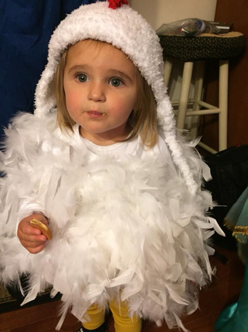 DIY Chicken Costume for Kids