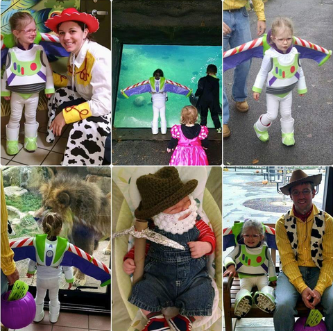 Toy Story DIY Costume for the Family