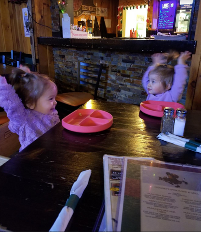 Twins Surviving the Restaurant